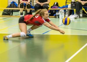 Sofia Purkhus in deep defence