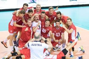 Oesterreich / Volleyball, Europameisterschaftsqualifikation Maenner, Oesterreich-Litauen / 21.05.2016 / Luxemburg / Foto: Christian Kemp