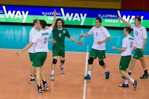 Nordirland / Volleyball, Qualifikation SCD Maenner, Nordirland - Faeroeer Inseln / 13.05.2016 / Luxemburg / Foto: Christian Kemp