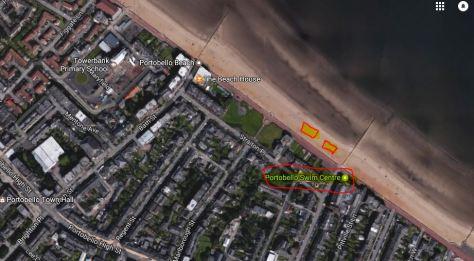 City Map - Portobello Beach