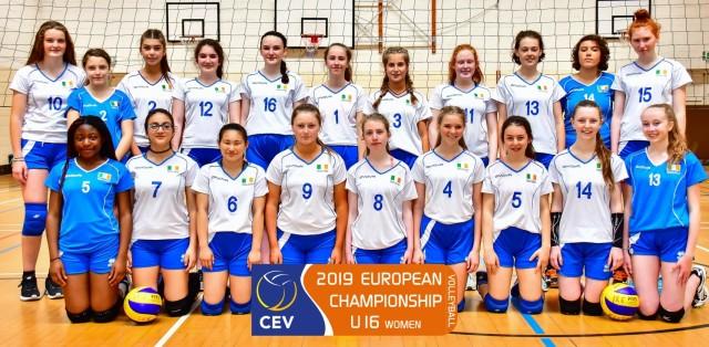 Girls' U16 European Volleyball Championship