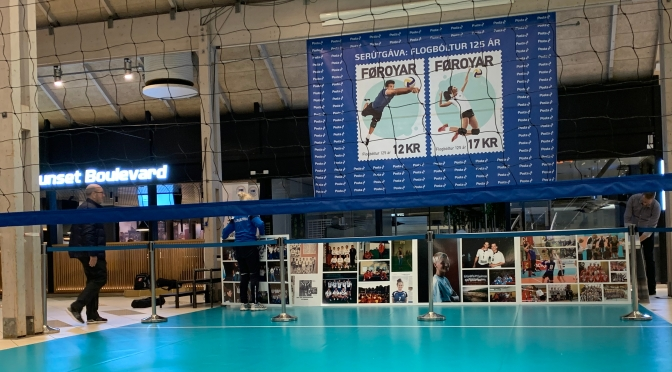 Faroe Islands to unveil Volleyball stamps in the presence of CEV President