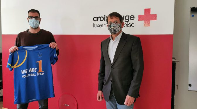 CEV staff members help raise funds for Red Cross during coronavirus crisis