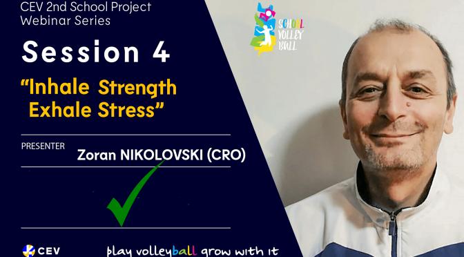 Stress management in the spotlight in latest School Project webinar