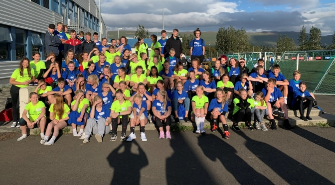 Record-breaking numbers for second camp run by Icelandic Volleyball Association