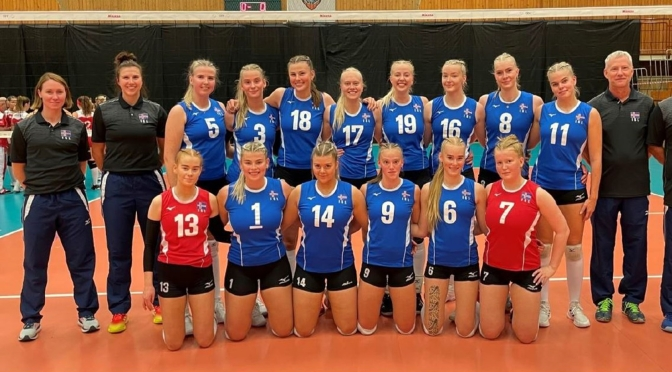 Iceland welcomes back SCA Volleyball competition with U19 women's championship